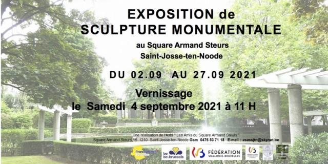 Square Armand Steurs (Bruxelles)du 2 au 27 septembre 2021